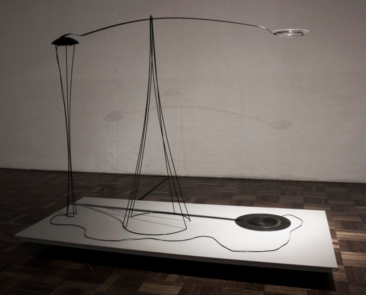 the impulsometer - Steel, perspex, water, speaker, electronics - 190 x 240 x 120cm