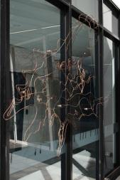 ginninderra traces - 160 x 345 x 70 cm