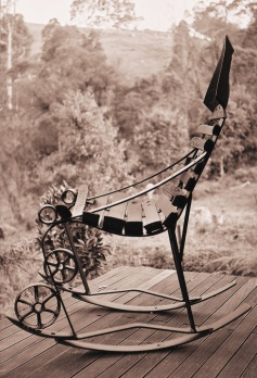 rocking chair, 2003  -  125 x 75 x 100 cm